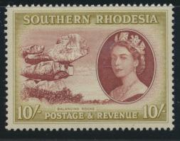Southern Rhodesia  SG 90  SC# 93 Mint Light hinge   Maize