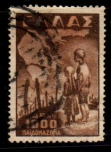 Greece - #518 Concentration Camp - Used