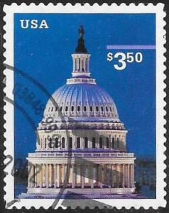 US 3472 Used - Capitol Dome - Priority $3.50