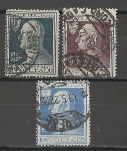 COLLECTION LOT # 5402 ITALY #189-91 1927 CV+$12.50
