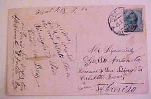 LIBYA  TRIPOLI 1916 TO ITALY