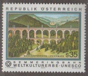 Austria Scott #1845 Stamp - Mint NH Single