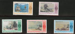 Trinidad Tobago Scott 262-6 MH* 1975 Art set