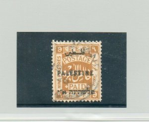 Israel Palestine SG #82a London II Used With Certificate!!