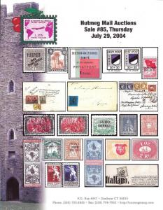 Nutmeg Stamp Sales -World Special Sections, Nutmeg 85