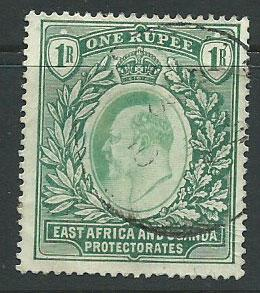 East Africa & Uganda SG 26 Used   good colour