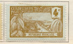 Guadeloupe 1905 Early Issue Fine Mint Hinged 4c. 077259