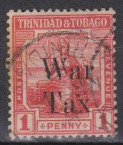 Trinidad & Tobago #MR13 F-VF Used (ST263)