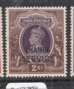 India Chamba SG O84 MNH (11dkn)