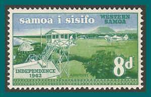 Samoa 1962 Independence, 8d MLH  #228,SG244