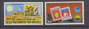 J29544, 1982 mali set mnh #c453-4 stamps
