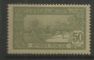 GUADELOUPE, 74, H, LAND GREEN