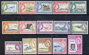 British Virgin islands 1964-68 Pictorial definitive set 1...