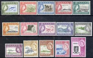 British Virgin islands 1964-68 Pictorial definitive set 1...