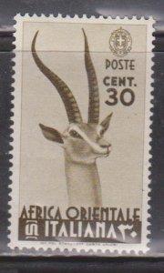 ITALIAN EAST AFRICA Scott # 8 MH