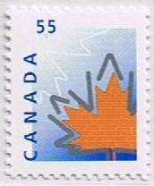 Canada Mint VF-NH #1684 Maple Leaf 55c