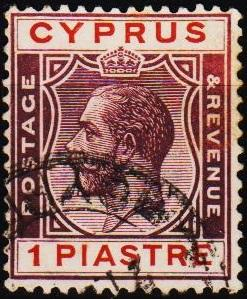 Cyprus. 1924 1pi S.G.106 Fine Used