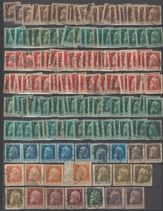 COLLECTION LOT OF #1209 BAVARIA # 77-85 * 166 STAMPS 1911 CLEARANCE CV + $95