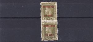 COOK IS 1919  S G 54B      9D VERTICAL PAIR  MH & MNH