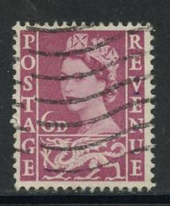 Great Britain - Wales Sct # 3; Used
