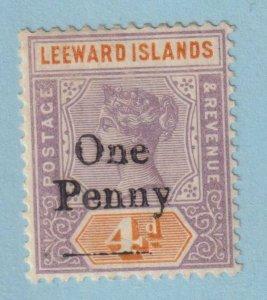 LEEWARD ISLANDS  17 MINT HINGED OG *   NO FAULTS VERY FINE!
