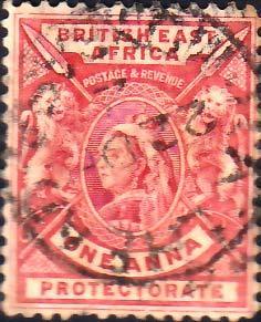 British East Africa Scott 73 Used.