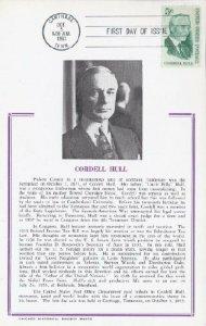 1235 5c CORDELL HULL - Hammond Card