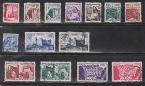 TUNISIA Scott # 237-51 Used