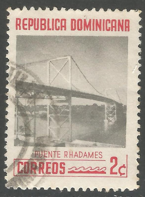 DOMINICAN REPUBLIC 520 VFU BRIDGE L861-2