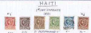 HAITI GROUP SCV $69.00 STARTS AT 25% OF CAT VALUE!