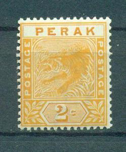 Malaya - Perak sc# 44 mh cat value $1.10