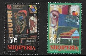 Albania (2003) - Scott # 2704 - 2705,   MNH