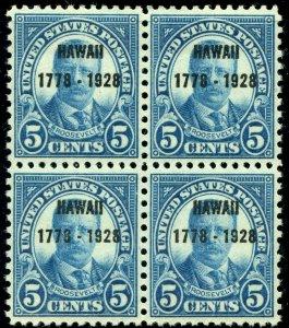US SCOTT #648, Mint-Block-XF-OG-NH (DFP)