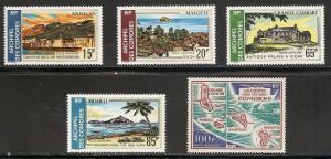 Comoro Islands C32-6 1971 Island Views set NH
