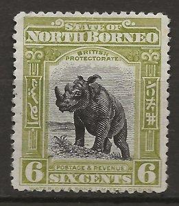 North Borneo 142 MH F/VF 1909 SCV $13.00 (jr)