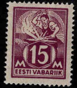 Estonia Scott 74 MH* from 1922-25 set