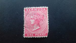 Bermuda 1883 -1898 Queen Victoria - New Watermark Used