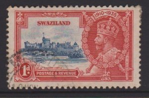 Swaziland Sc#20 Used