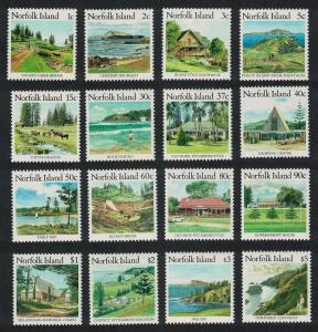 Norfolk Norfolk Island Scenes 16v COMPLETE SG#405-420 SC#401-416