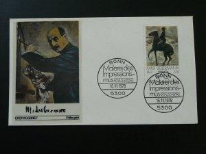 paintings Max Liebermann impressionism FDC 1978 Germany 83696
