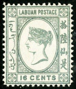 Labuan Stamps # 38 Unused VF Scott Value $30.00