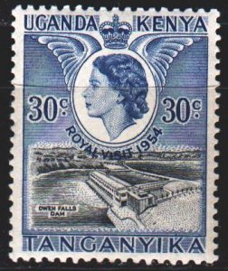 Uganda. 1954. 91. Visit of the Queen of England. MNH.