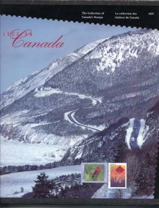 Annual Souvenir Collection Postage Stamps of Canada 1997 USC #AC40 Cat. $90.00