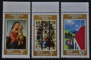 DYNAMITE Stamps: New Zealand Scott #504-506 – MNH