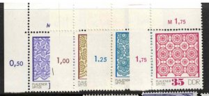 East Germany (DDR) complete mint set CV 2.7£ (approx 3.10€)