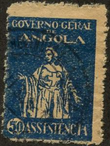 Angola, Scott #RA4, Used