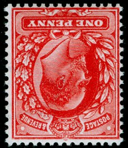 SG272 SPEC M6(1)b, 1d rose-red, NH MINT. Cat £80. WMK INV
