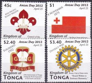 Tonga #1180-3  MNH CV $8.25 (Z9531)