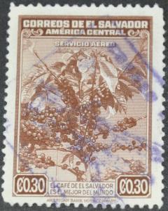 DYNAMITE Stamps: El Salvador Scott #C76 - USED