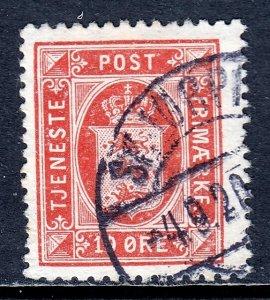 Denmark - Scott #O21 - Used - SCV $7.00